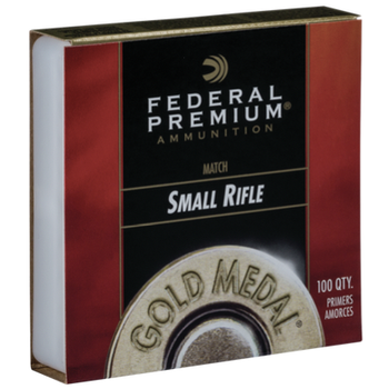 Federal #GM205M Small Rifle Primers Match Per 100