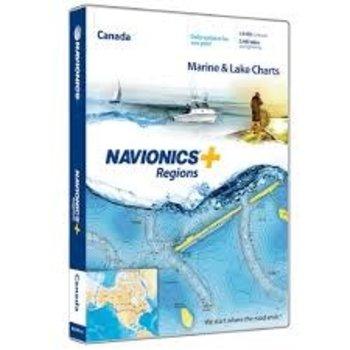 Navionics Navionics+ Region MSD Canada