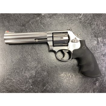 """Smith & Wesson Model 686-6 357 Mag 6"""" Stainless Revolver"""