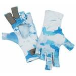 Simms Simms SolarFlex SunGlove, Cloud Camo Blue, L