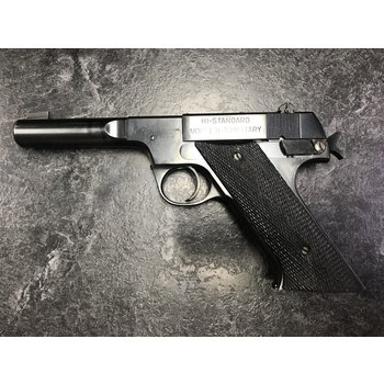 High Standard HD Military 22 LR Semi Auto Pistol (1947)