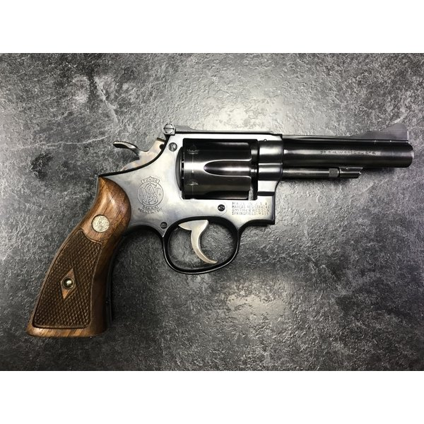"Smith & Wesson Combat Masterpiece 38 Spl 4"" BBL (1952) PROHIBITED"