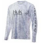 HUK HUK IconX Camo   L LS (H1200143-453-L)