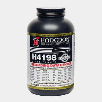 Hodgdon Hodgdon H4198 Rifle Powder 1 lb
