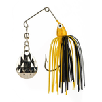 Strike King Mini King 1/8oz Spinner Bait Black Yellow