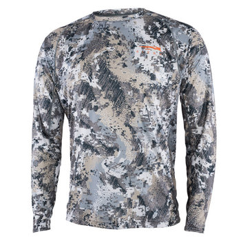 Sitka Core Lightweight Long-Sleeve Crew, Optifade Elevated II, M