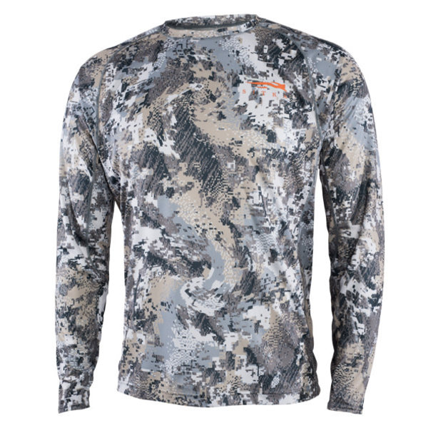 Sitka Core Lightweight Long-Sleeve Crew, Optifade Elevated II, L