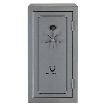 "HQ Outfitters 40 Gun Safe (HQ-SFRWPGG-40) 55""x29.5""x25.5"", Electronc Keypad, Fire Rated 75Min 1400F/760C, Waterproof 72 Hours Grey Colour"