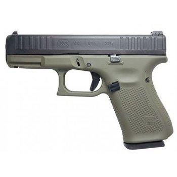 Glock GLOCK 44 OD Green 22LR Semi Pistol w/Adj Sights Cerakote Frame