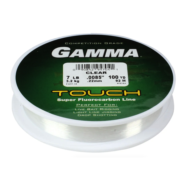 Gamma Touch Super Fluorocarbon 7lb 100yds