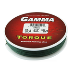 Gamma Torque Braided Line 10lb 150yds Green