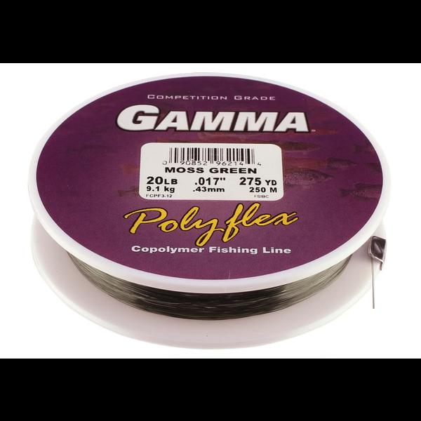 Gamma High Performance Copolymer 10lb Moss Green 300yd