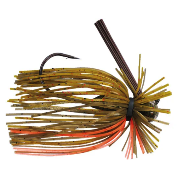 Strike King Tour Grade Finesse FootBall 3/8oz Jig. Bama Craw