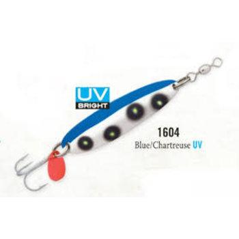 Luhr Jensen Krocodile 1/2oz Blue Chart (1003-012-1604)