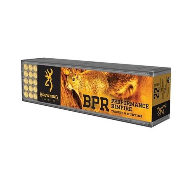 Browning Browning BPR 22LR 37gr Fragmenting Rimfire Ammo