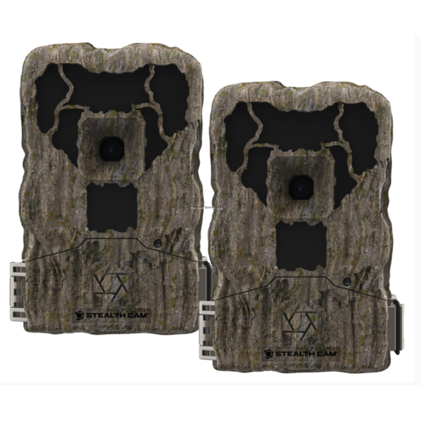 Stealth Cam STC-XS16CMO-2pk Trail Camera, XS16 2pk Camo,with SD Card Reader, 14MP, Low Glow