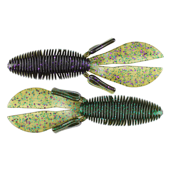 "Missile Baits D Bomb 4"" Candy Grass  6-pk"