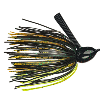 Strike King Hack Attack Fluorocarbon Flipping Jig. 1/2oz Texas Craw