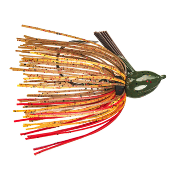 Strike King Hack Attack Fluorocarbon Flipping Jig. 1/2oz Falcon Lake Craw