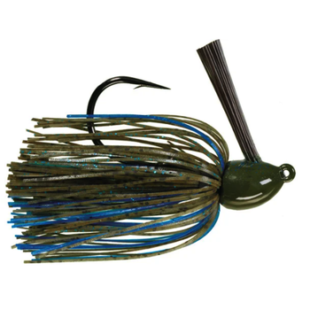 Strike King Hack Attack Flipping Jig. 1/2oz Okeechobee Craw