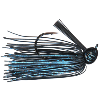 Strike King Premier Pro Model Jig 1/2oz Black Blue