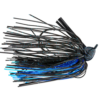 Strike King Premier Pro Model Jig 1/2oz Black Blue Accent