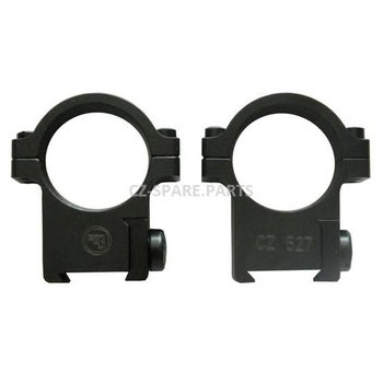 CZ 527  Scope Rings, Bordson Type, 30MM 6593-6000-01ND