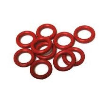 O-Wacky O-Ring Red. 25 pk