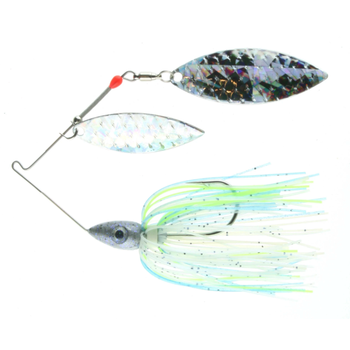Nichols Pulsator Shattered Glass 1/2oz Citrus Shad. Double Willow