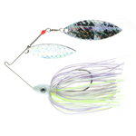 Nichols Pulsator Shattered Glass 1/2oz Clent's Shad Spawn. Double Willow
