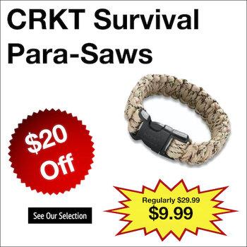 CRKT Survival Para-Saws