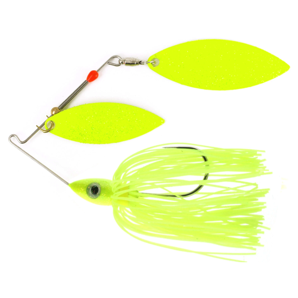 Nichols Pulsator Metal Flake 1/2oz Chartreuse. Double Willow