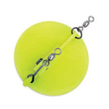 Luhr Jensen Dipsy Diver, Size 1 Chartreuse