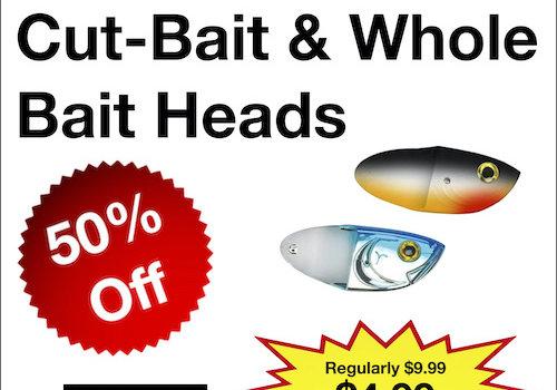 Luhr Jensen Cut-Bait & Whole Bait Heads