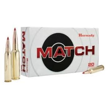 Hornady 81491 Match Rifle Ammo 6.5 Creedmoor 120 Gr, Eld Match, 20 Rnd