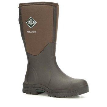 Muck Women's Wetland XF Wide Calf Boot, Brown, 9