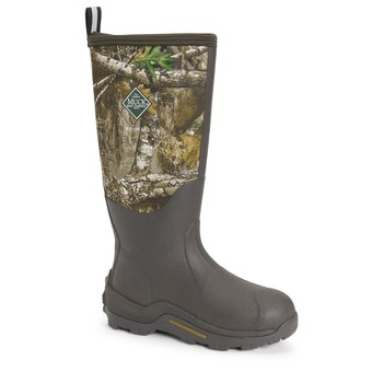 Muck Men's Woody Max Boot, Brown/Realtree Edge, 9