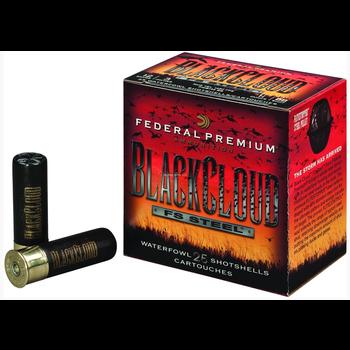 """Federal PWBX134-BBB Black Cloud Waterfowl Shotshell 12 GA 3-1/2"""" 1-1/2oz BBB, 25 Rnd per Box"""