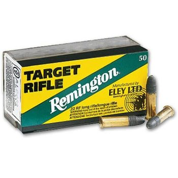 Remington Eley Target Rifle .22 LR 40 Grain RN 50 Round Box