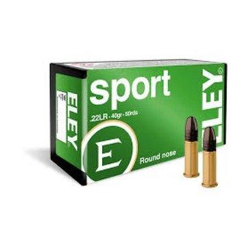 Eley Sport Ammunition 22LR LRN 40 Grains 04100 - Box of 50