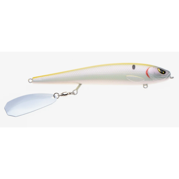 """Freedom Tackle Mischief Minnow 3.5"""" Chartreuse Pearl"""