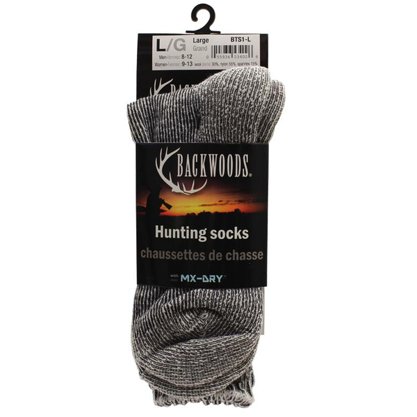 Backwoods Wool Hunting Sock. XL