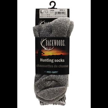 Backwoods Wool Hunting Sock. L