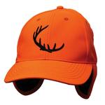 Backwoods Cap w/Ear Tabs Blaze Orange O/S