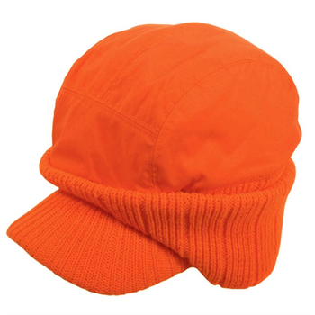 Backwoods Cap w/Ear Warmers Blaze Orange O/S