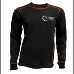 Backwoods Thermal Undershirt Black XXL