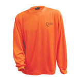 Backwoods Long-Sleeve Shirt Blaze Orange L