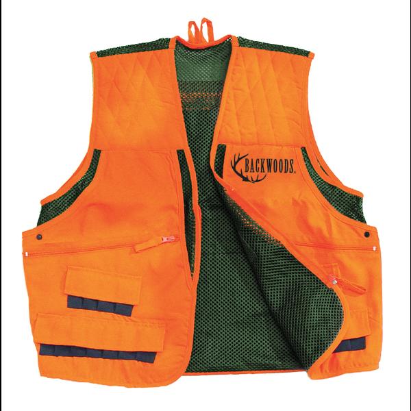 Backwoods Upland Game Vest Blaze Orange L
