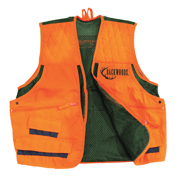 Backwoods Upland Game Vest Blaze Orange S