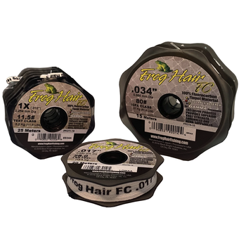 Gamma Frog Hair 6# 4X Fluorocarbon Tippet Material 25m